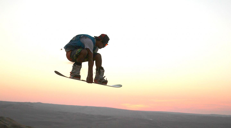 Sandboarding, ¡surfea en la arena!