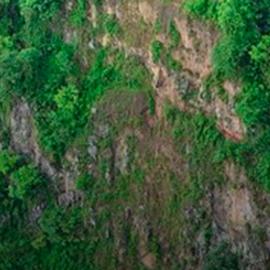 """Sequía """"desaparece"""" la cascada Velo de Novia en Naolinco"""