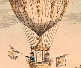 Conoce el origen del globo aerostático