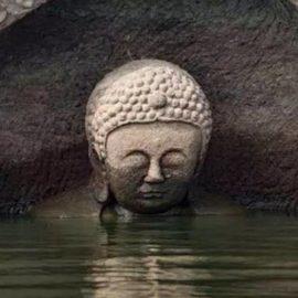 En China se descubre estatua de buda de 600 años de antigüedad.
