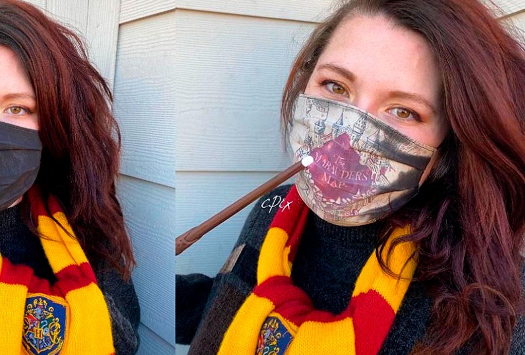¡La magia de Harry Potter llega a los cubrebocas!