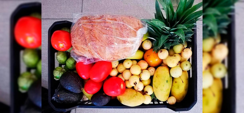 la milpa cholula, frutas, verduras