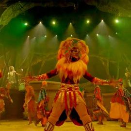 ¡El show del Rey León, de Disneyland París, en línea de manera gratuita!