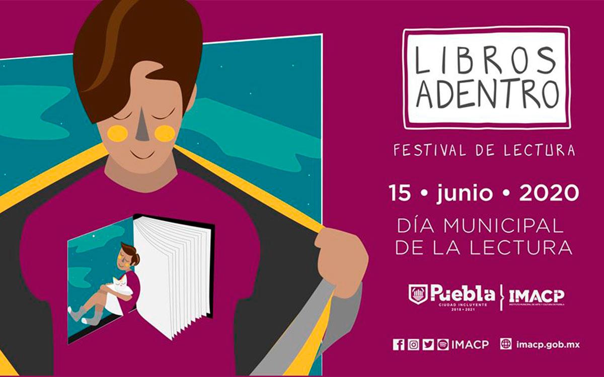 """No te pierdas el primer festival de lectura en casa """"Libros Adentro"""""""