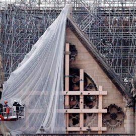 Se prepara la reconstrucción dela Catedral de Notre Dame