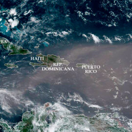 Nube de polvo del Sahara llegará a México este martes