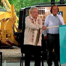 Inician la construcción del 4° Tramo del Tren Maya