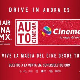 """Cinemex se adapta y presenta """"autocinema"""" en Ciudad de México"""