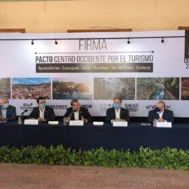 """Firman cinco estados el """"Pacto Centro Occidente por el Turismo"""""""