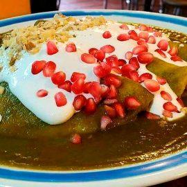 ¿Enchiladas en nogada? ¡sí, ya hay un restaurante que las prepara!