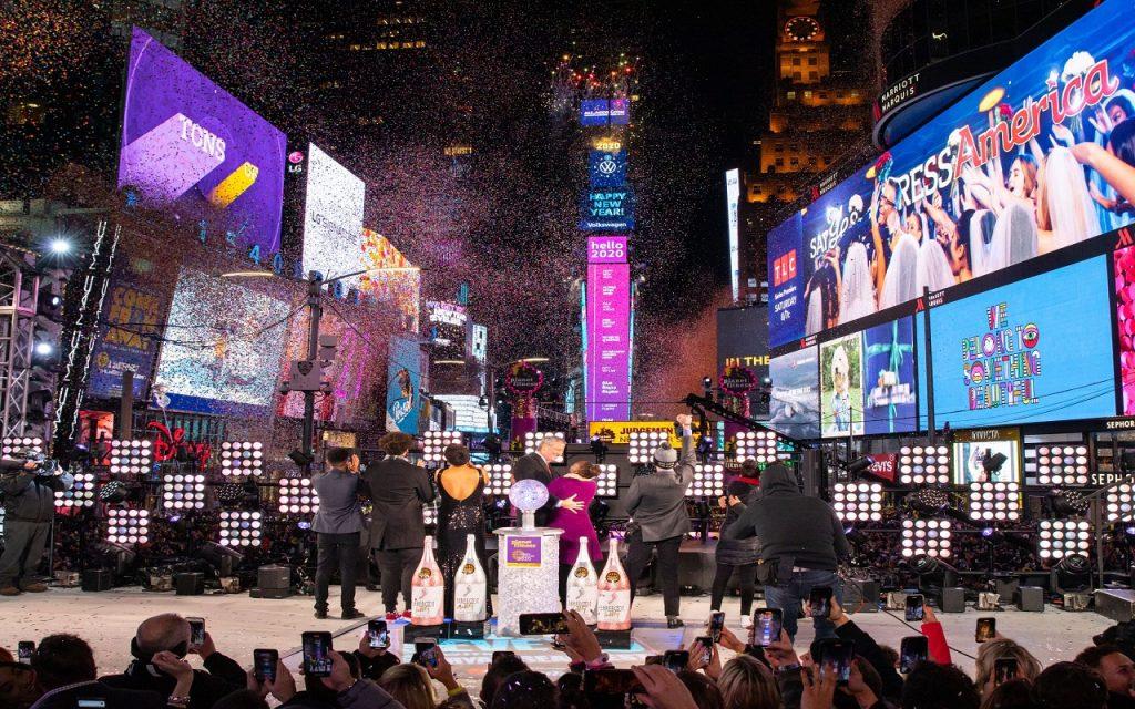 El Año Nuevo en Times Square será virtual, ¡disfrútalo desde casa!