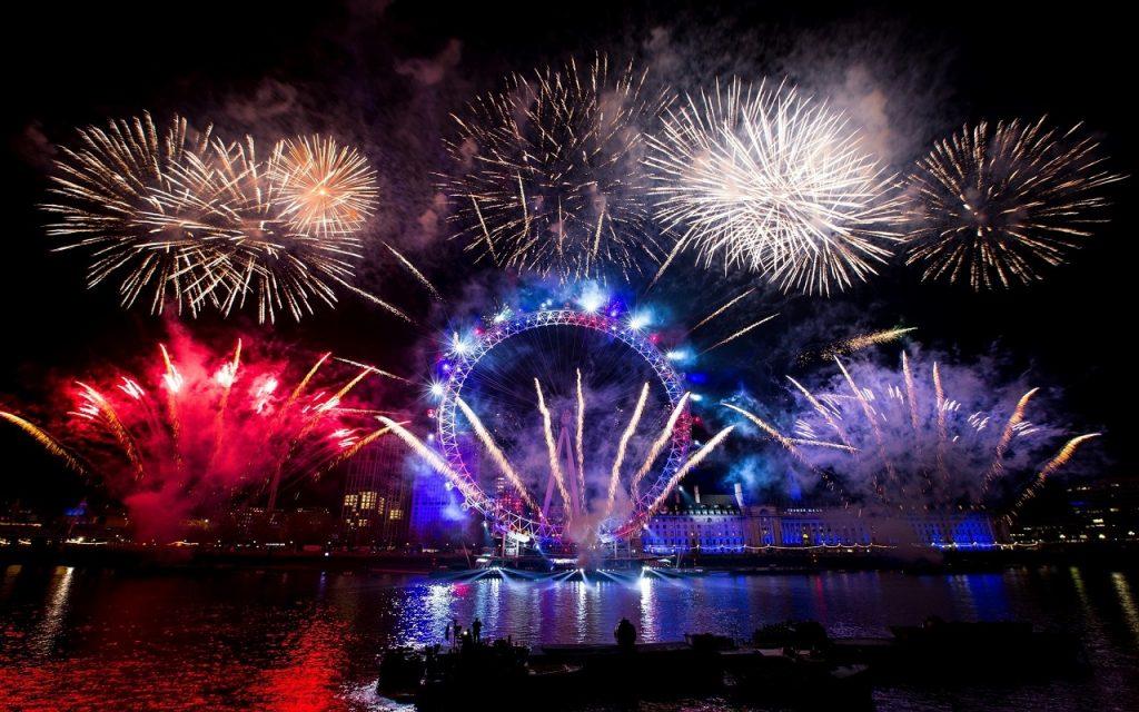 Londres confirmó la cancelación de sus fuegos artificiales de Año Nuevo