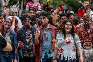 ¡La Marcha Zombie de CDMX 2020 será virtual y con causa social!