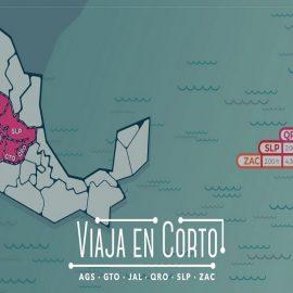 """""""Viaja en Corto"""", la nueva campaña que busca impulsar el turismo en el Bajío"""