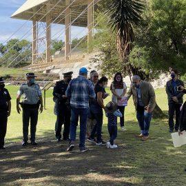 El INAH reabrió la zonas arqueológicas Cacaxtla-Xochitécatl en Tlaxcala