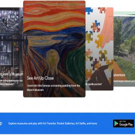 Realiza un recorrido digital por el mundo con Google