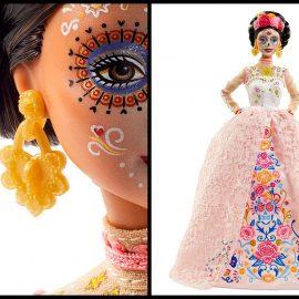 Barbie rinde tributo al Día de Muertos en México