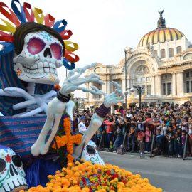 """Desfile de Día de Muertos de CDMX será transmitido en la app """"Xóchitl"""""""