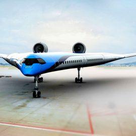 KLM busca revolucionar la aviación con el Flying-V