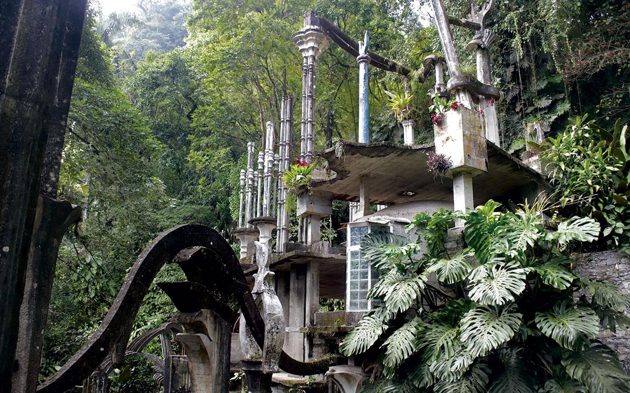 Jardín Escultórico de Edward James, sueño entre la vegetación