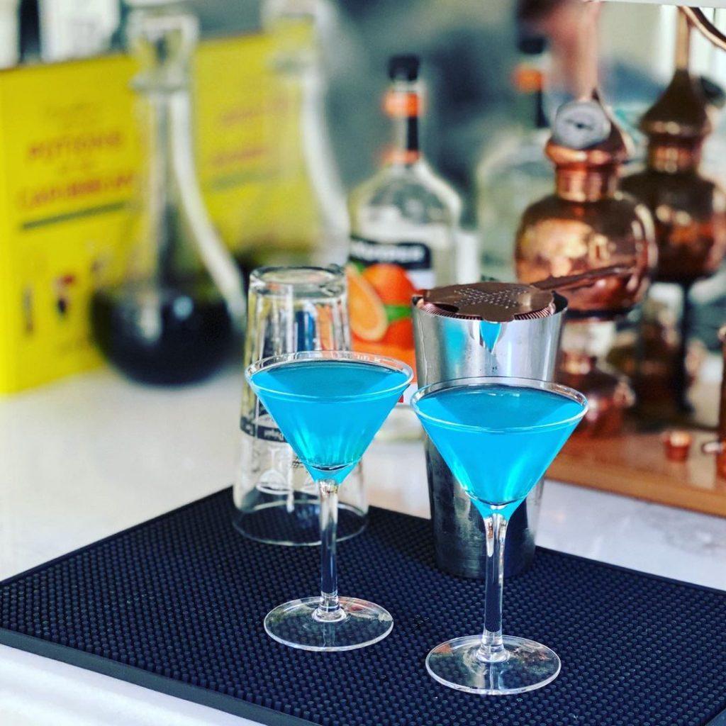 Bebida del Blue Monday