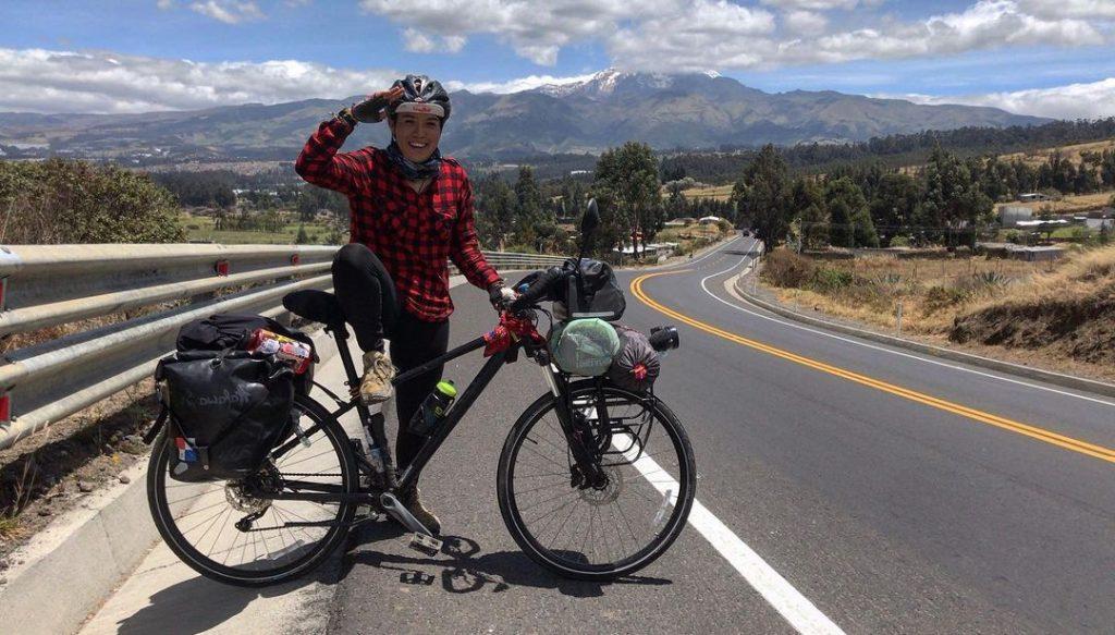 mujeres ciclistas Criz Lares