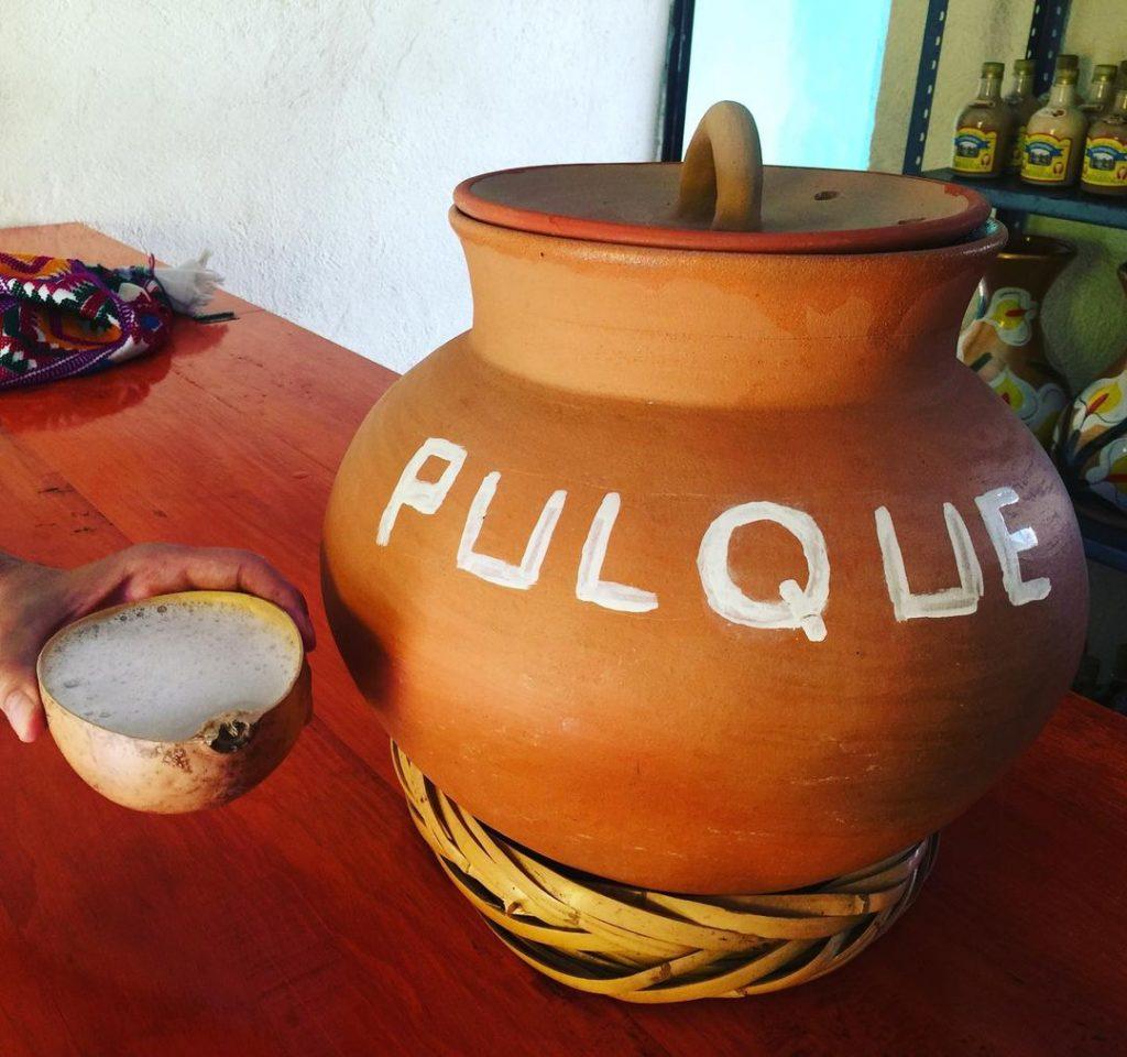 bebidas típicas México pulque