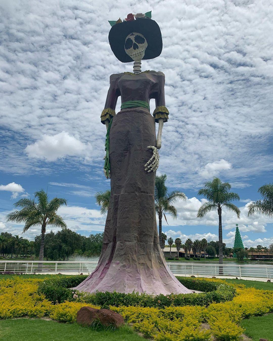isla San Marcos catrina monumental