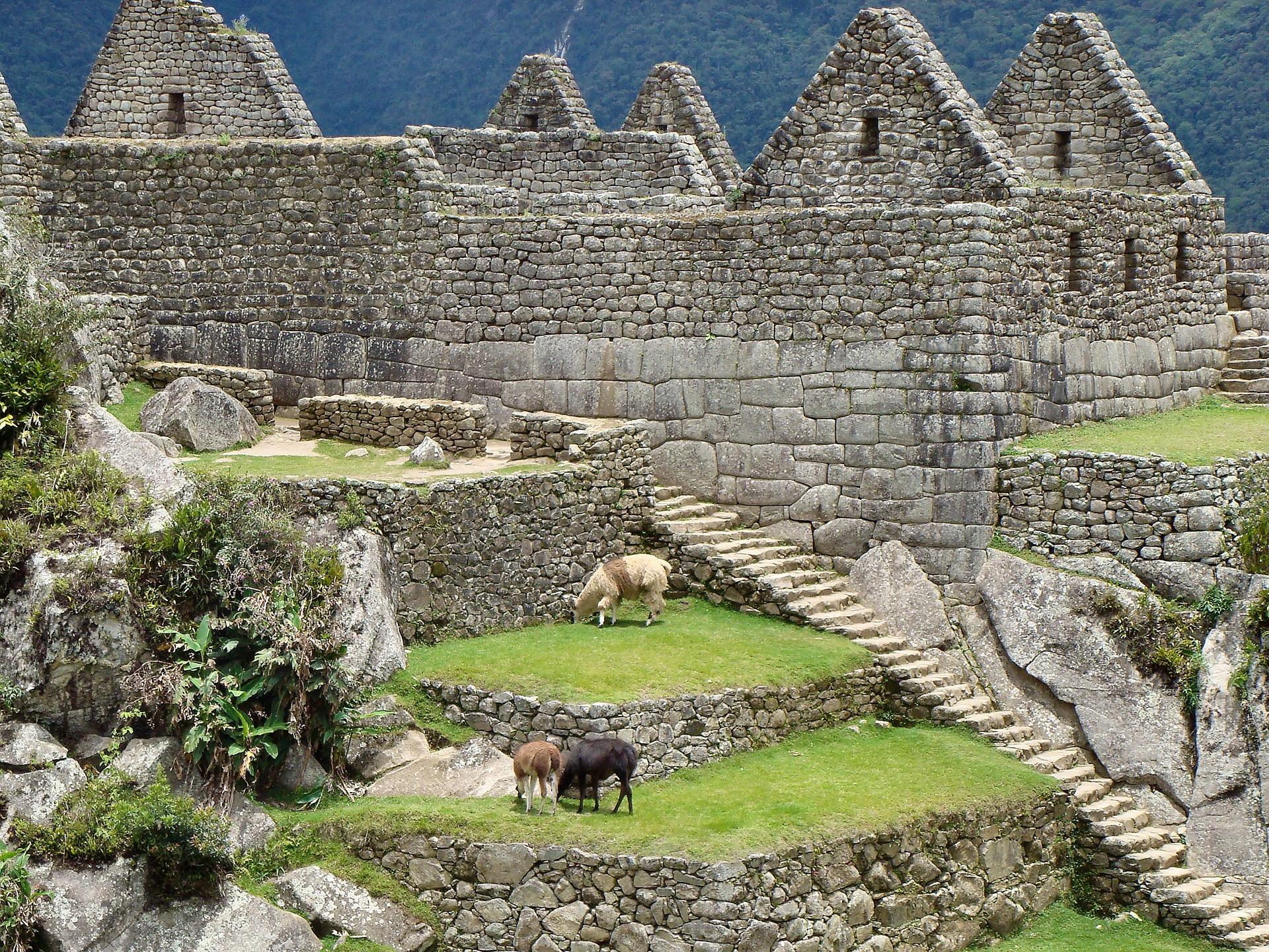 Machu Picchu palacio real