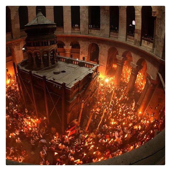 procesiones de semana santa jerusalen