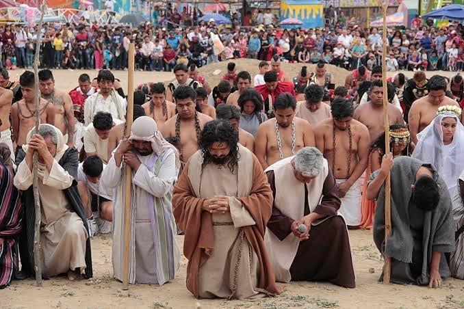procesiones populares México Semana Santa