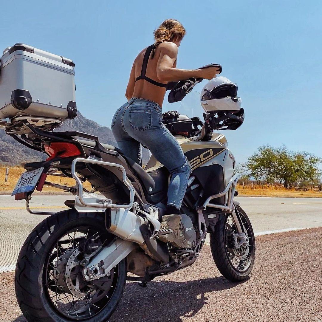 viajar en moto por puebla