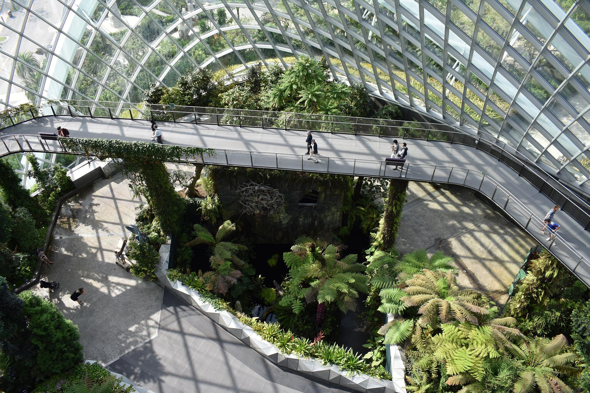 ciudad jardin en singapur arquitectura
