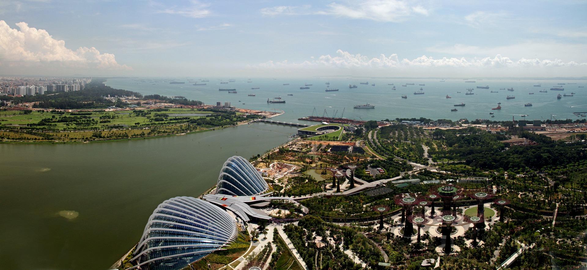 ciudad jardin en singapur construccion