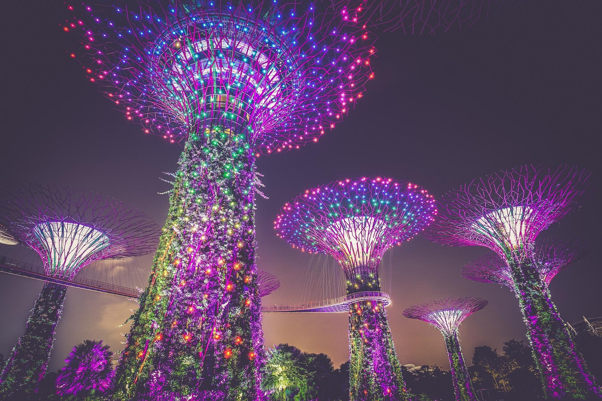 ciudad hardin en singapur estructuras