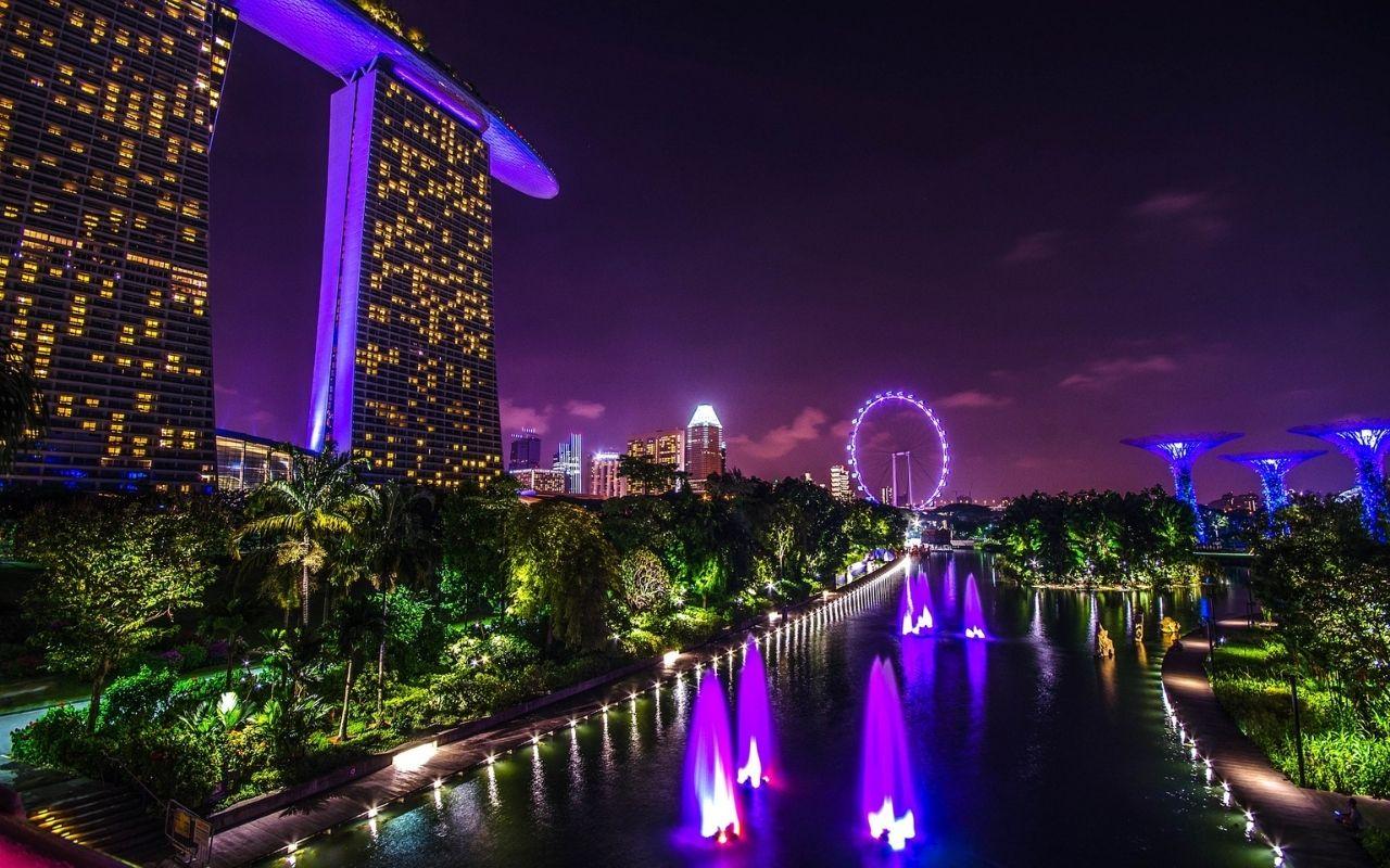 ciudad jardin en singapur