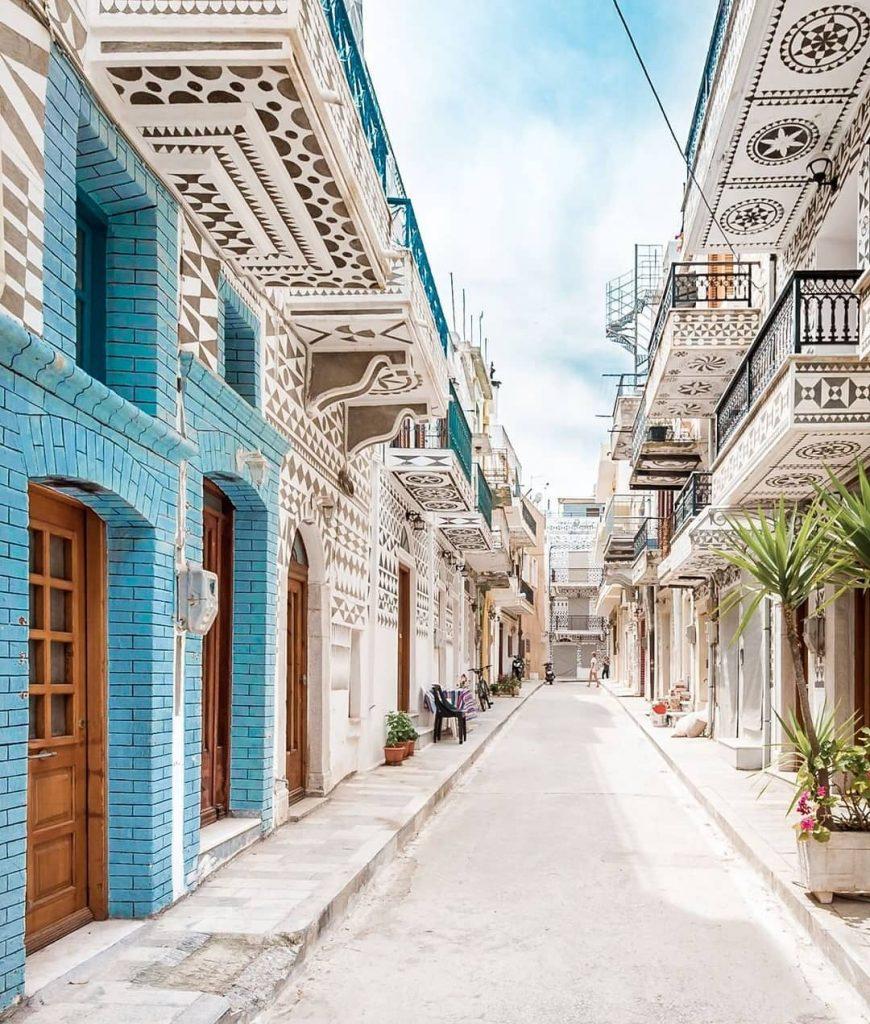 isla de Quios Grecia ciudad