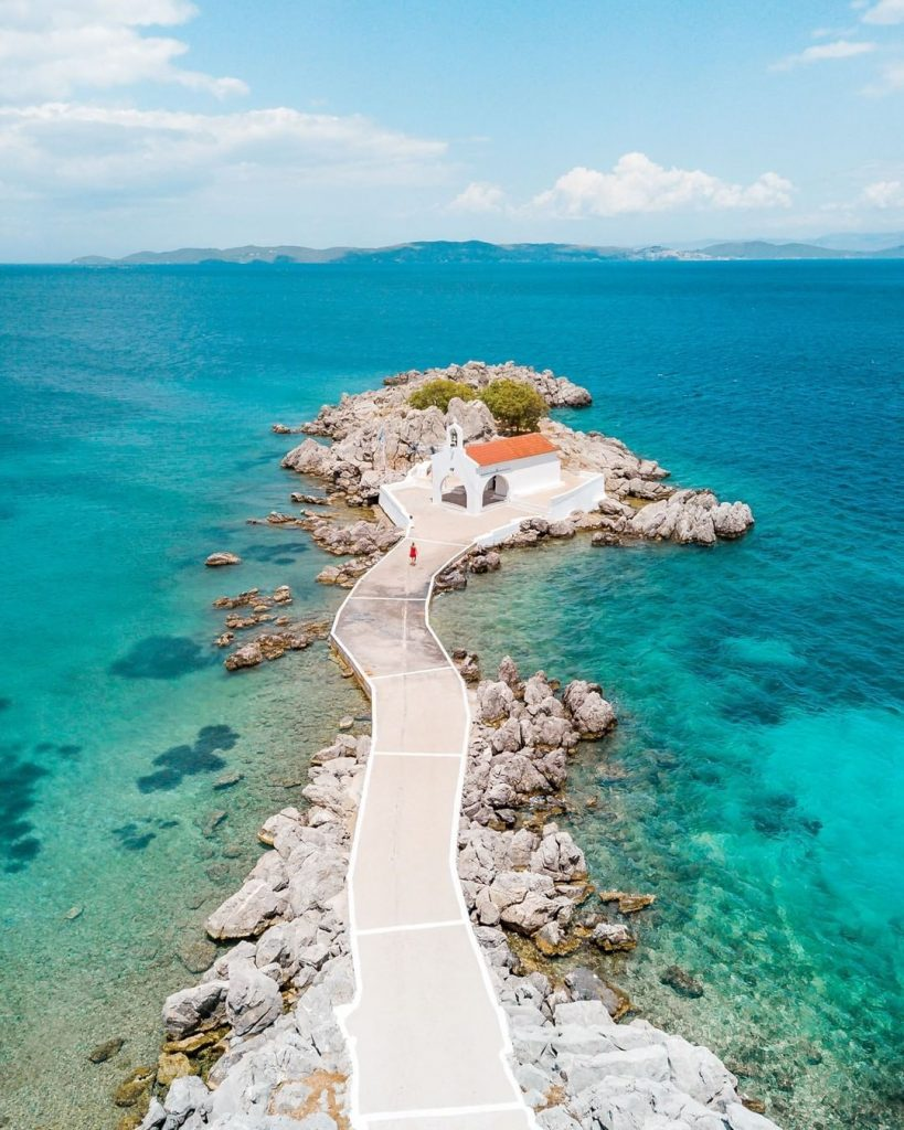 isla de Quios Grecia playas