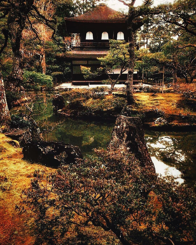 jardines de kioto Ginkaku-ji