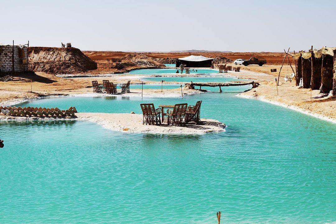 lagos salados oasis de siwa