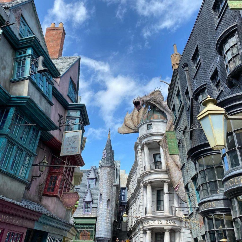 lugares Harry Potter callejón Diagon