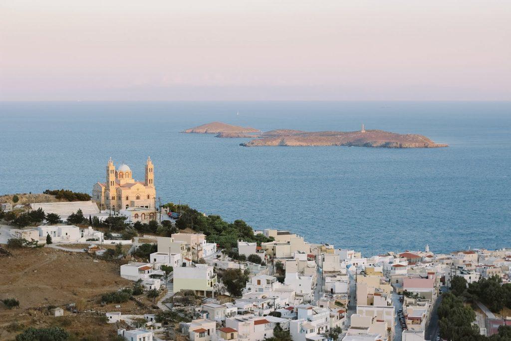 Isla Siros Grecia