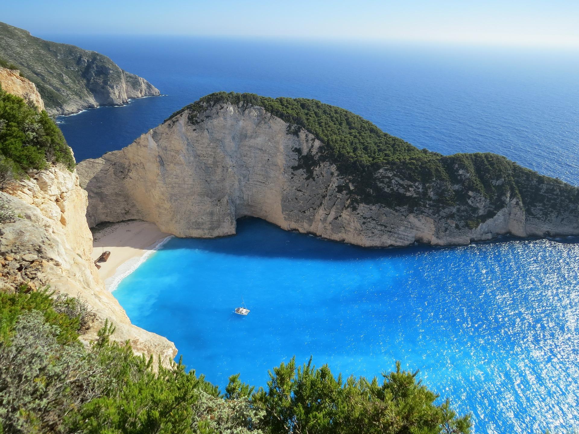 lugares en grecia playas