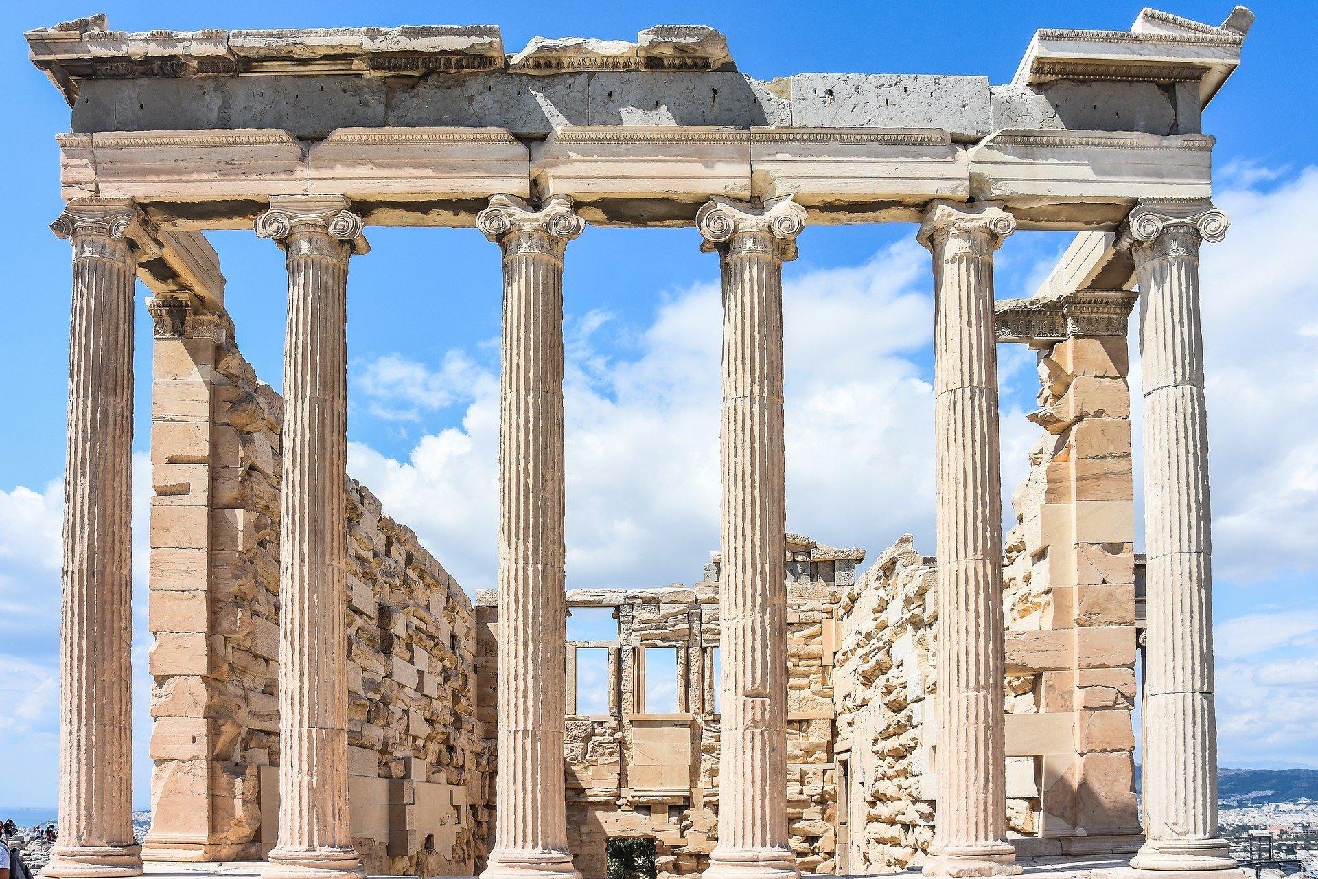 lugares en grecia ruinas