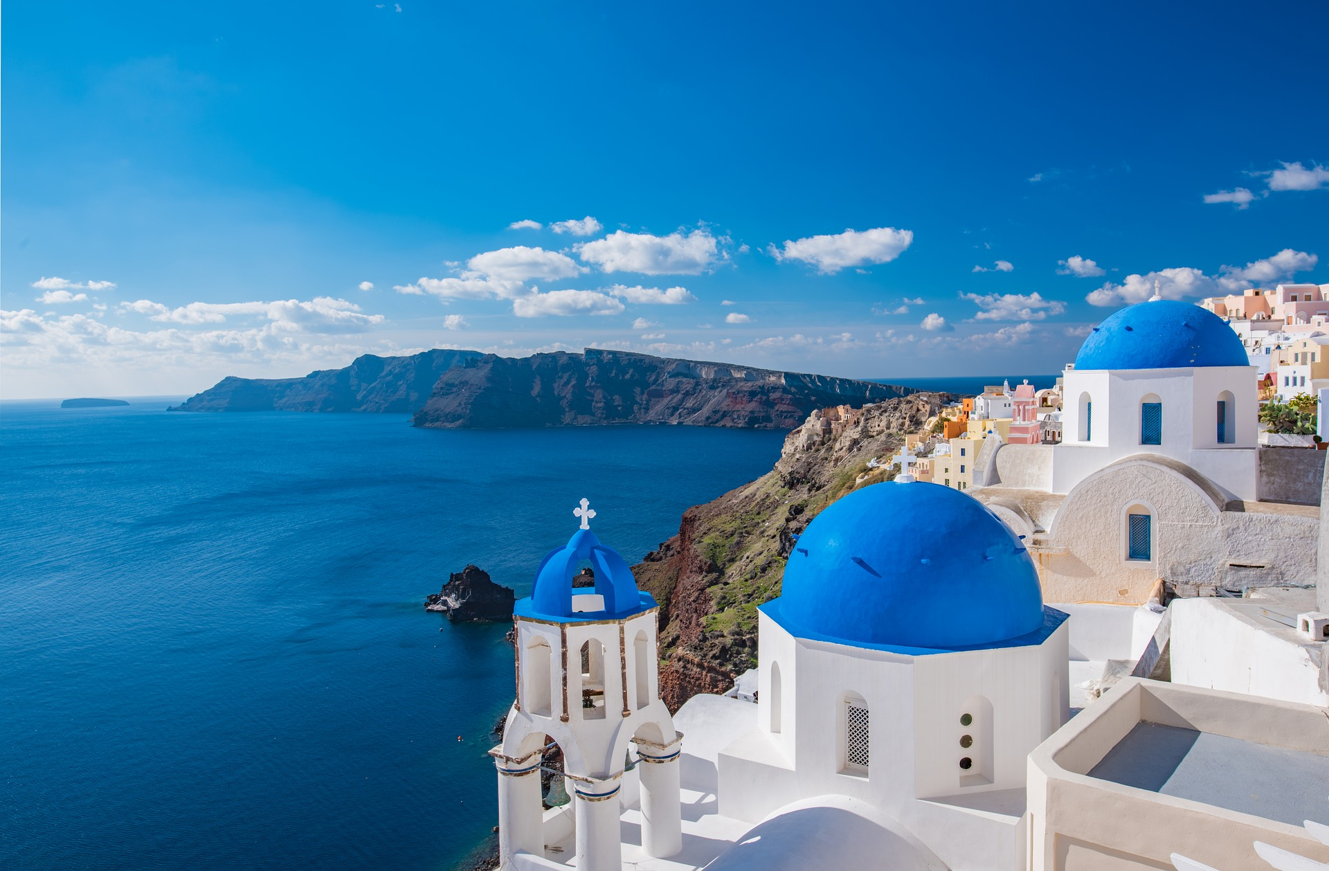lugares en grecia santorini