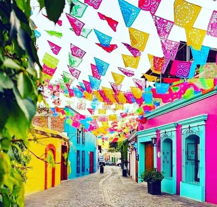 papel picado artesania mexicana
