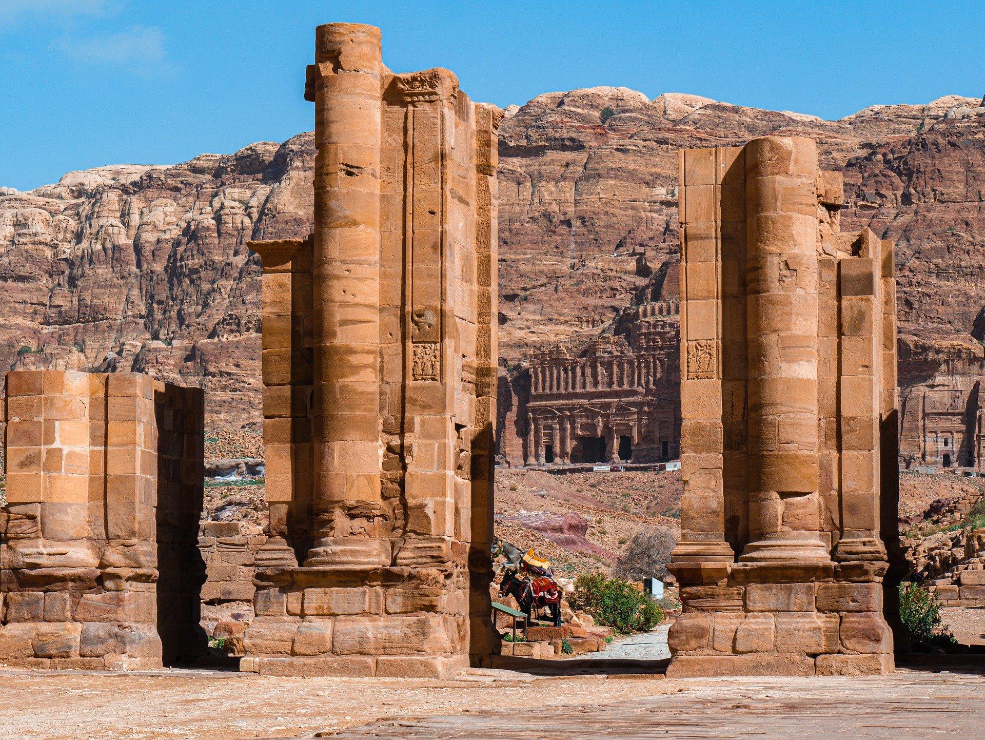 turismo en jordania ruinas