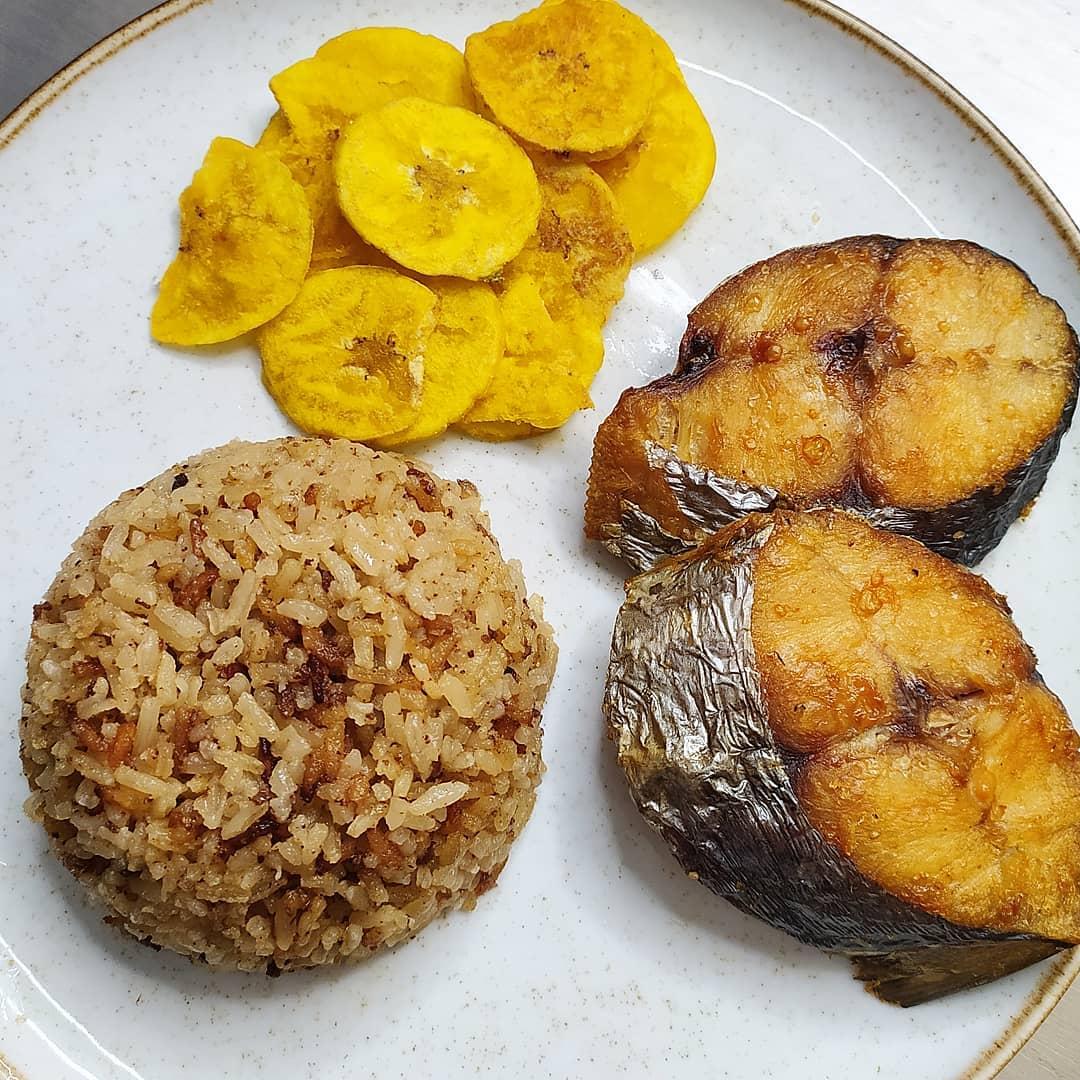 arroz con coco comida tipica colombia