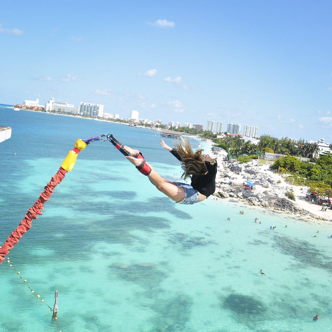 actividades en cancun bungee jumping