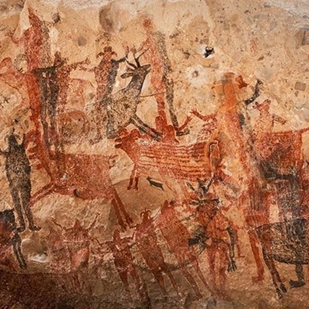 senderismo en mexico arte rupestre